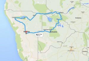 Route_Namibia
